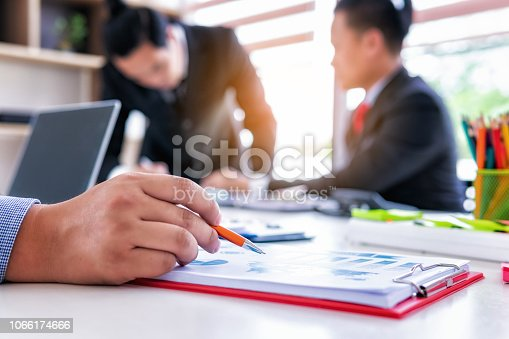 951092116istockphoto Business people meeting corporate group with analyzing financial data investment in office.Teamwork successful meeting workplace strategy concept 1066174666