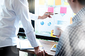 istock Business People Meeting Design Ideas Concept. business planning 824616820