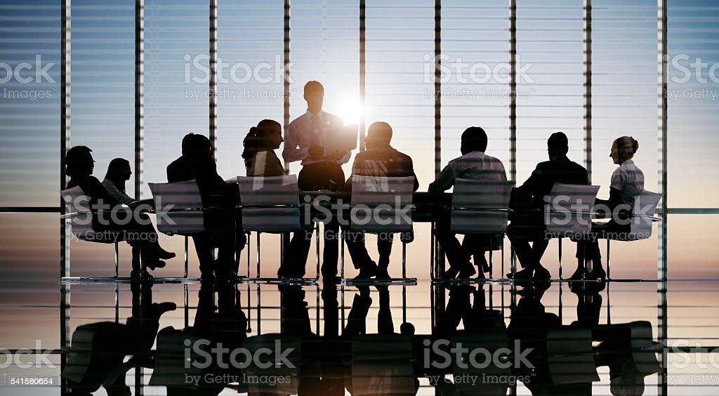 Geschäftsleute treffen Diskussion Kommunikation Konzept – Foto