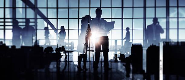 business people meeting discussion communication concept - fönsterrad bildbanksfoton och bilder