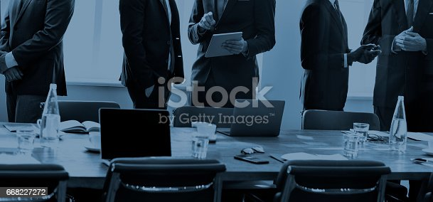 669854210 istock photo Business People Meeting Discussion Working Concept 668227272