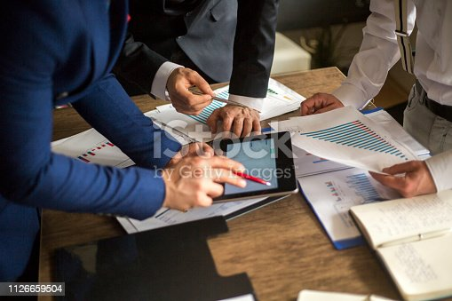 881542122istockphoto Business People Meeting Growth Success Target Economic Concept 1126659504