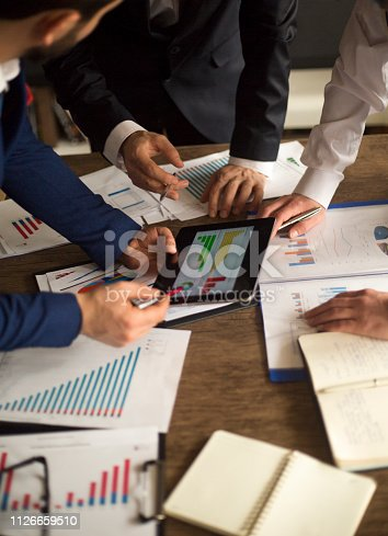 881542122istockphoto Business People Meeting Growth Success Target Economic Concept 1126659510