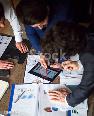 881542122istockphoto Business People Meeting Growth Success Target Economic Concept 1126660556