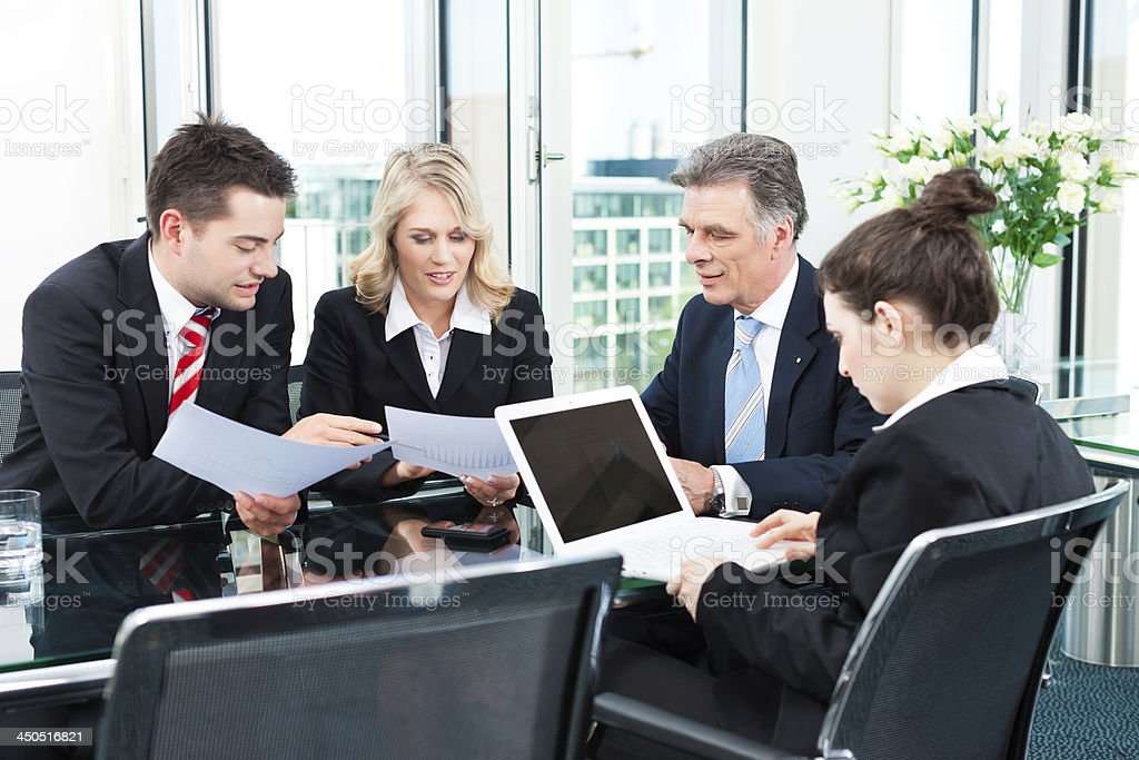 Business Personen-meeting im Büro – Foto