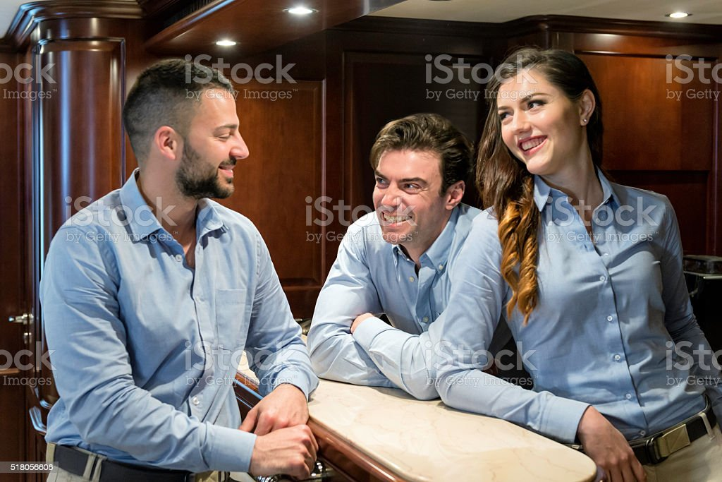 Business people meeting stock photo