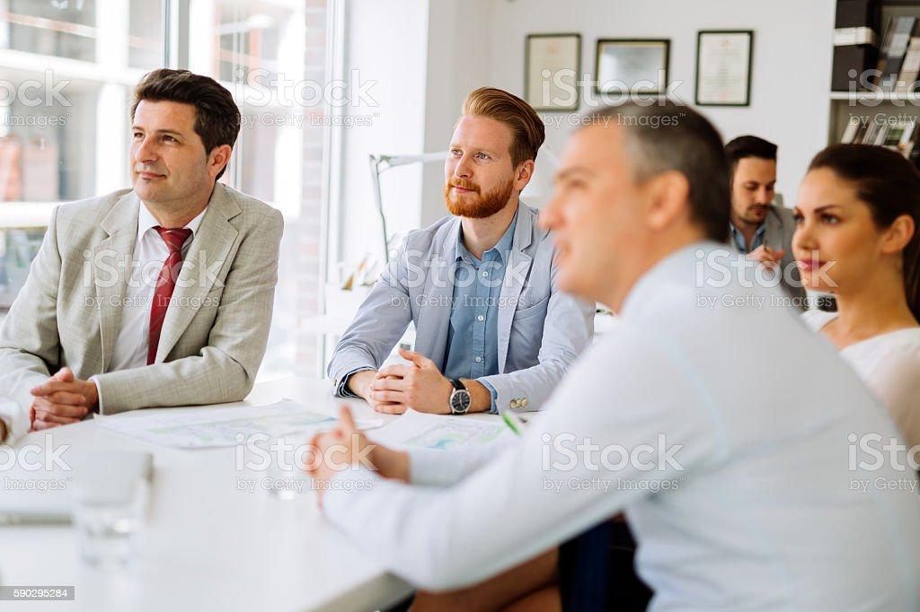 Бизнес люди встречи  Стоковые фото Стоковая фотография