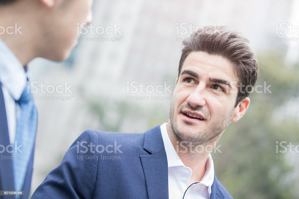 business persone incontro foto stock royalty-free