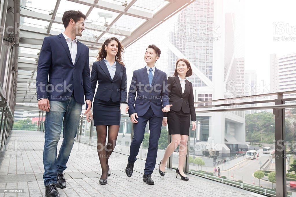 Gens d'affaires de réunion photo libre de droits