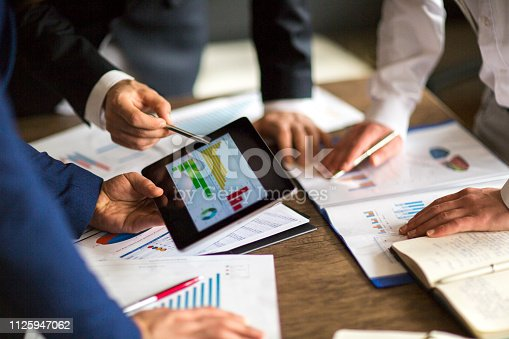 881542122istockphoto Business People meeting Planning Strategy Analysis Concept laptop meeting with technology 1125947062