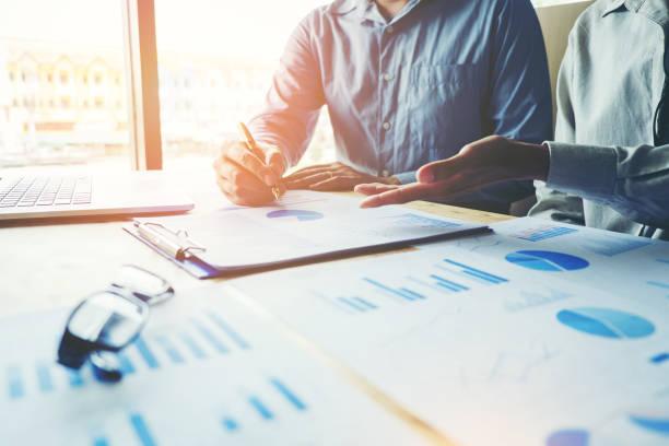 Geschäftsleute treffen Planung Strategie-Analyse-Konzept – Foto
