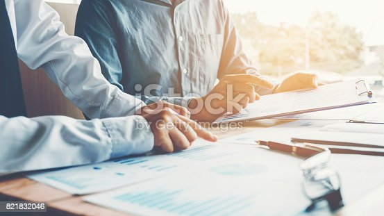 istock Business People meeting Planning Strategy Analysis Concept 821832046