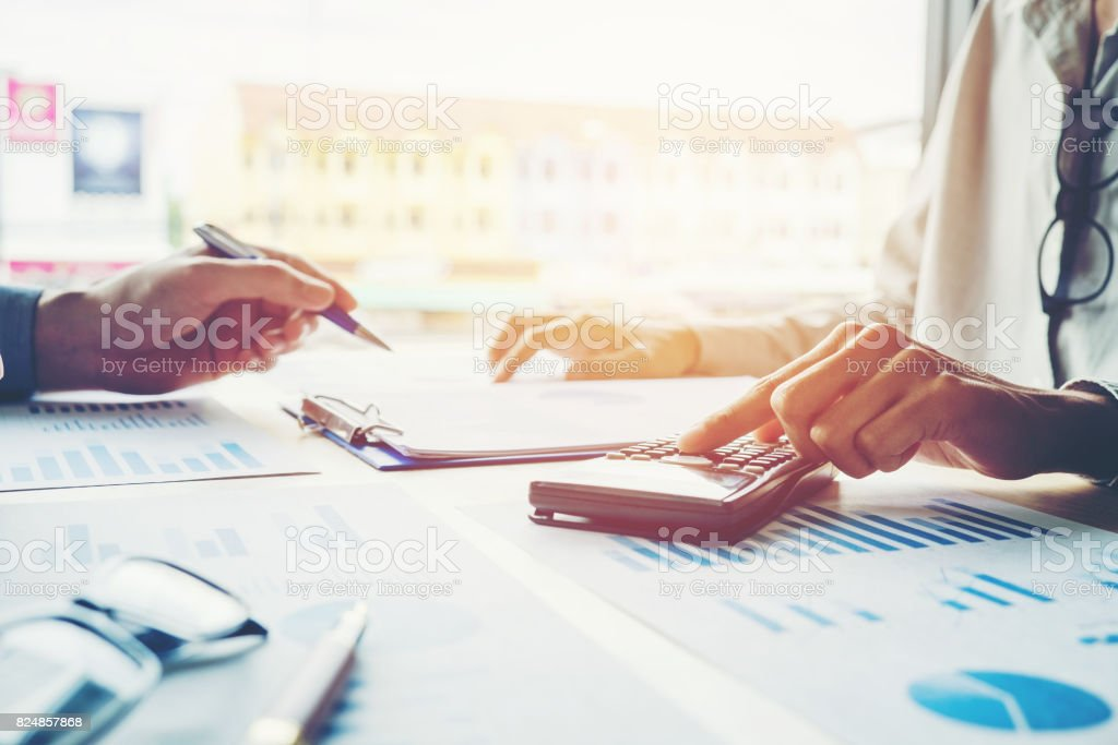 Business People meeting Planning Strategy Analysis Concept - foto stock