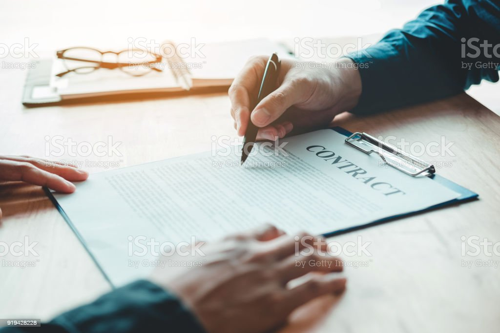 Sample agreement between two people