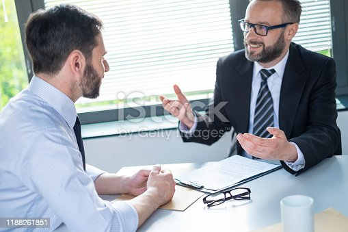 840610244istockphoto Business people negotiating a contract. 1188261851