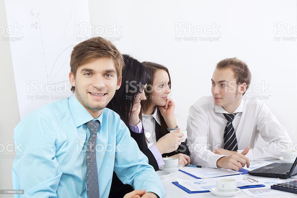 business people office royalty-free stock photo