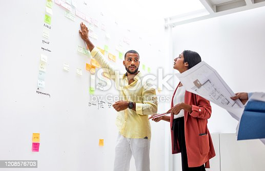 496441730 istock photo Business people on a meeting 1208576703