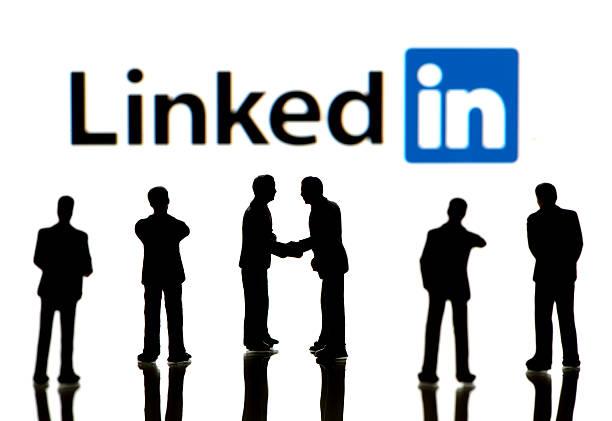 Geschäftsleute auf LinkedIn – Foto