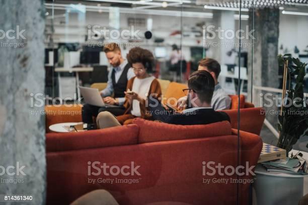 Business people on relaxing in the break room picture id814361340?b=1&k=6&m=814361340&s=612x612&h=xuiqhrwaqcjjft5c3puolsxxdo2xa8gjnnnhr40unsc=