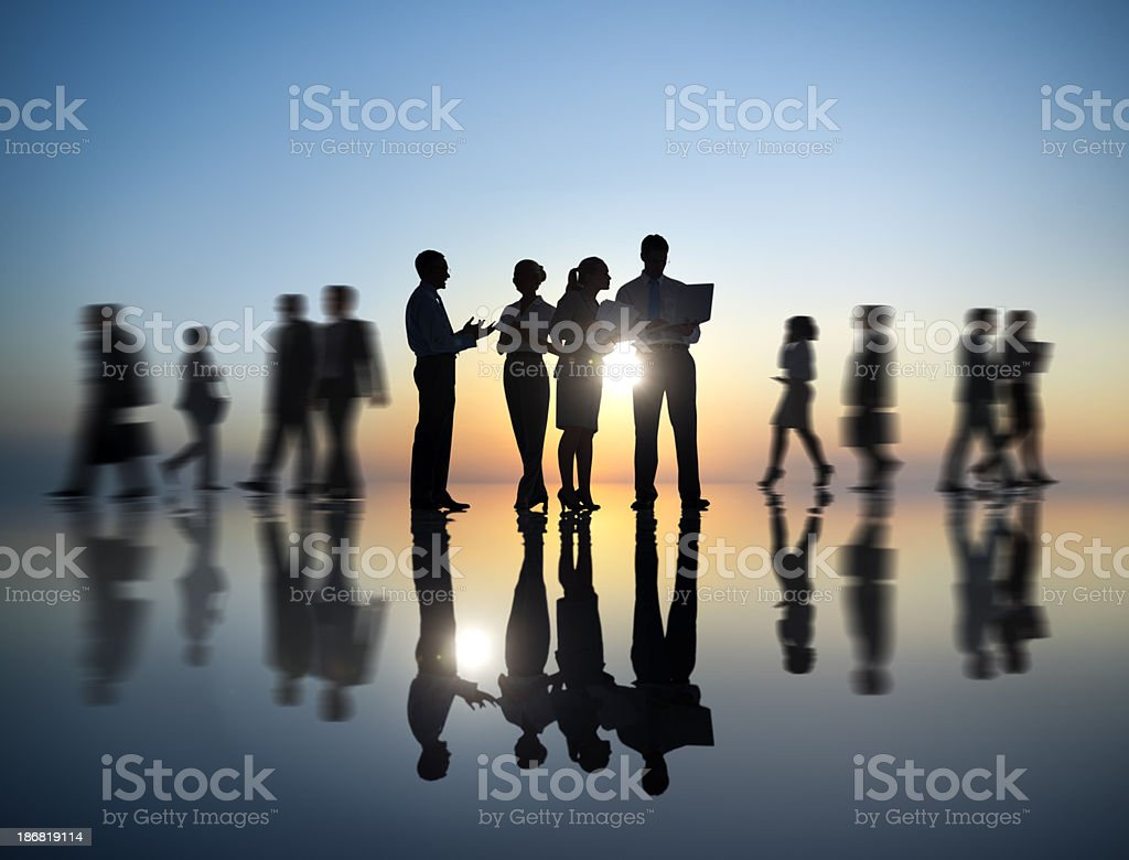 Business People. royalty-free stock photo