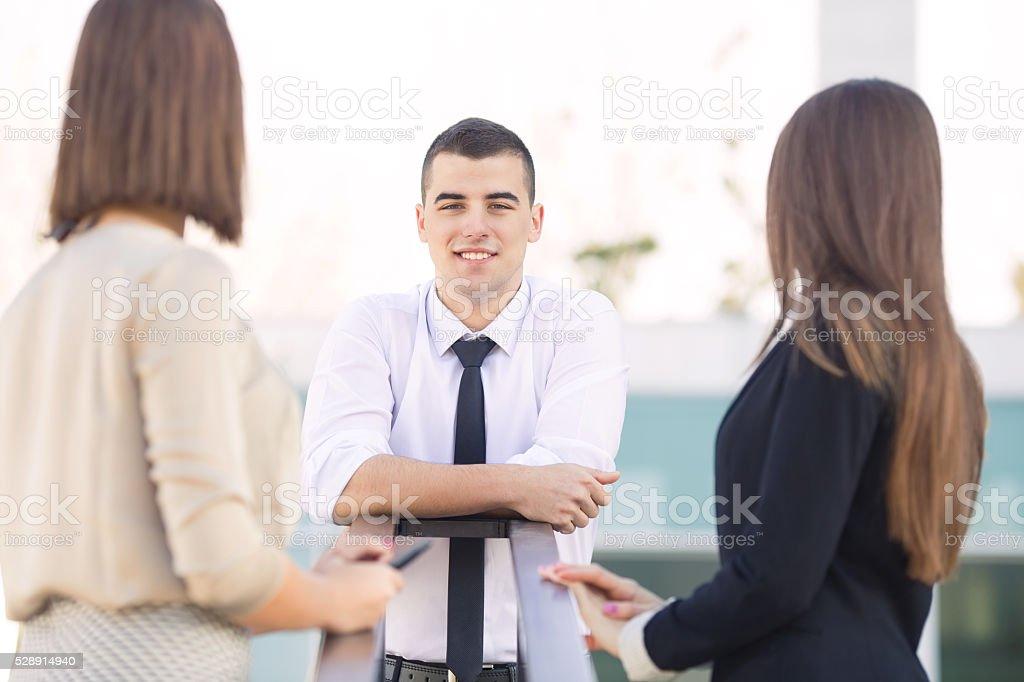 Pessoas de negócios - foto de acervo