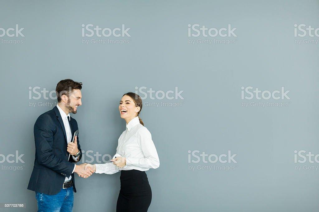 Personas de negocios  - foto de stock