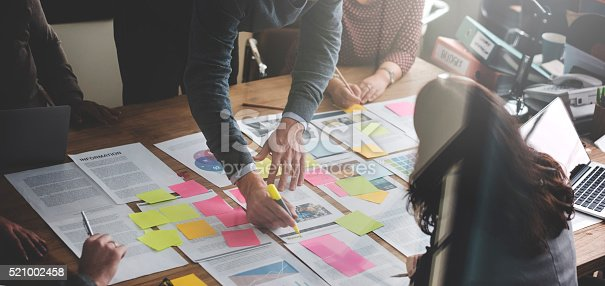 istock Business People Planning Strategy Analysis Office Concept 521002458
