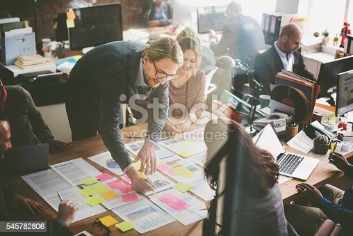 istock Business People Planning Strategy Analysis Office Concept 545782806