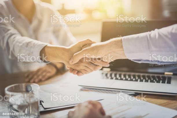 Business people shaking hands finishing up meeting picture id840614432?b=1&k=6&m=840614432&s=612x612&h=exan2qsm ch voddpvbxkrbzraqfd6sufgvbpwlujru=