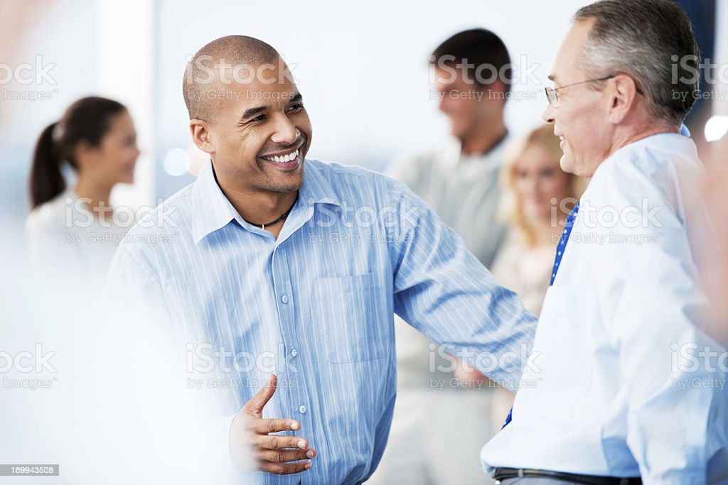 Business people talking. royalty-free stock photo