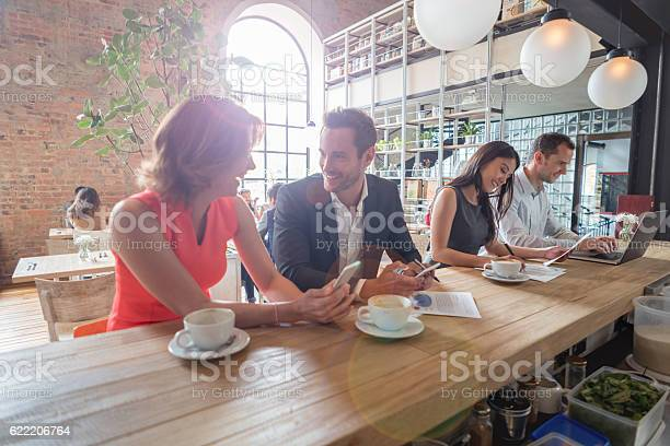 Business people working at a restaurant picture id622206764?b=1&k=6&m=622206764&s=612x612&h=wreqfffy1twonqh om5rw8uerhtspvy0oebbdbmhzsw=
