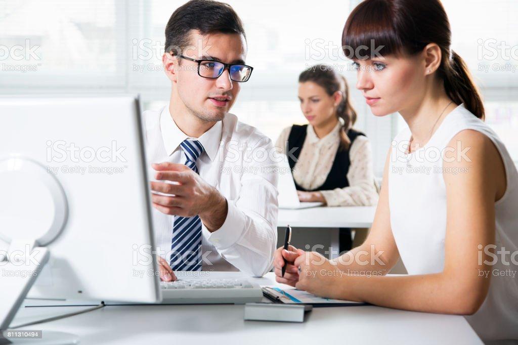 Geschäftsleute Arbeiten in einem Büro – Foto