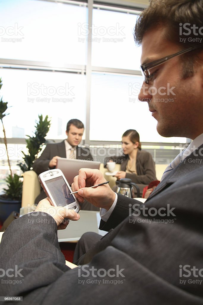 Business people working in the office - Royalty-free Adult Stock Photo