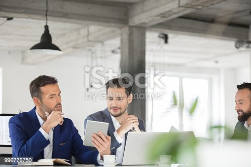 istock Business people working on new business project 996776750