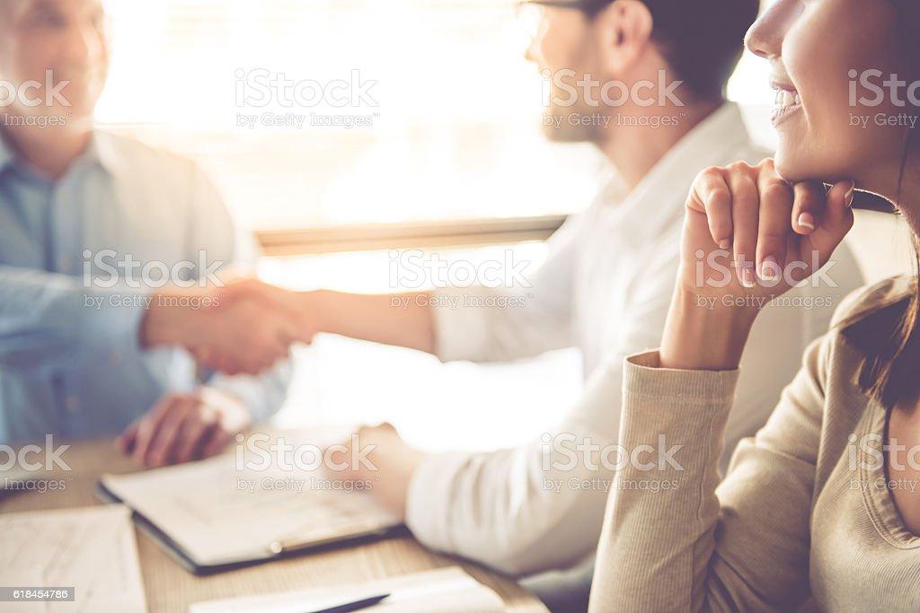 Las personas de negocios trabajando  foto de stock libre de derechos