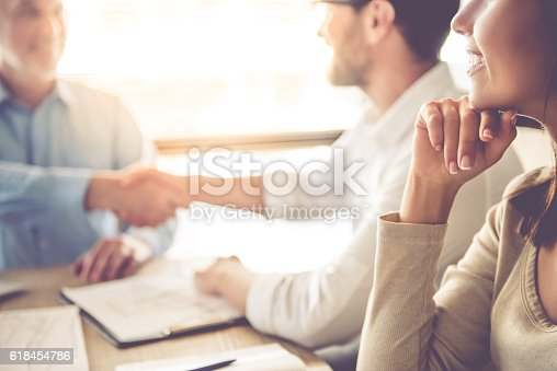 istock Business people working 618454786