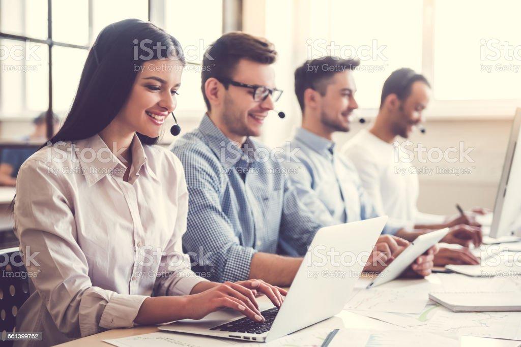 Business people working - Foto stock royalty-free di Adulto