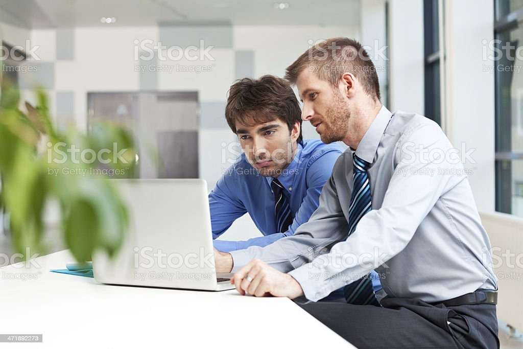 Business people working together royalty-free stock photo