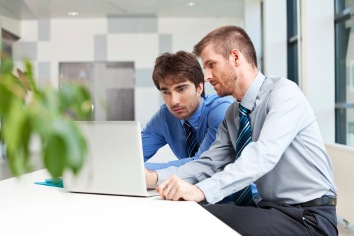 Business People Working Together Stock Photo - Download Image Now