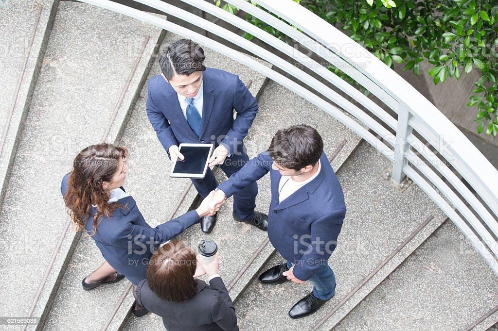 business people working together Lizenzfreies stock-foto