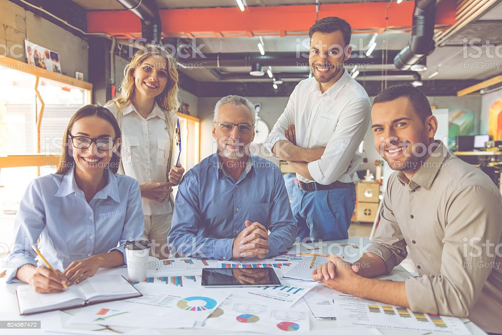 Business people working together  – Foto