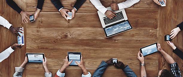 ビジネス人々の仕事、テクノロジーのコンセプト ストックフォト