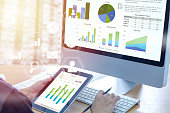 istock Business performance analysis 959633036