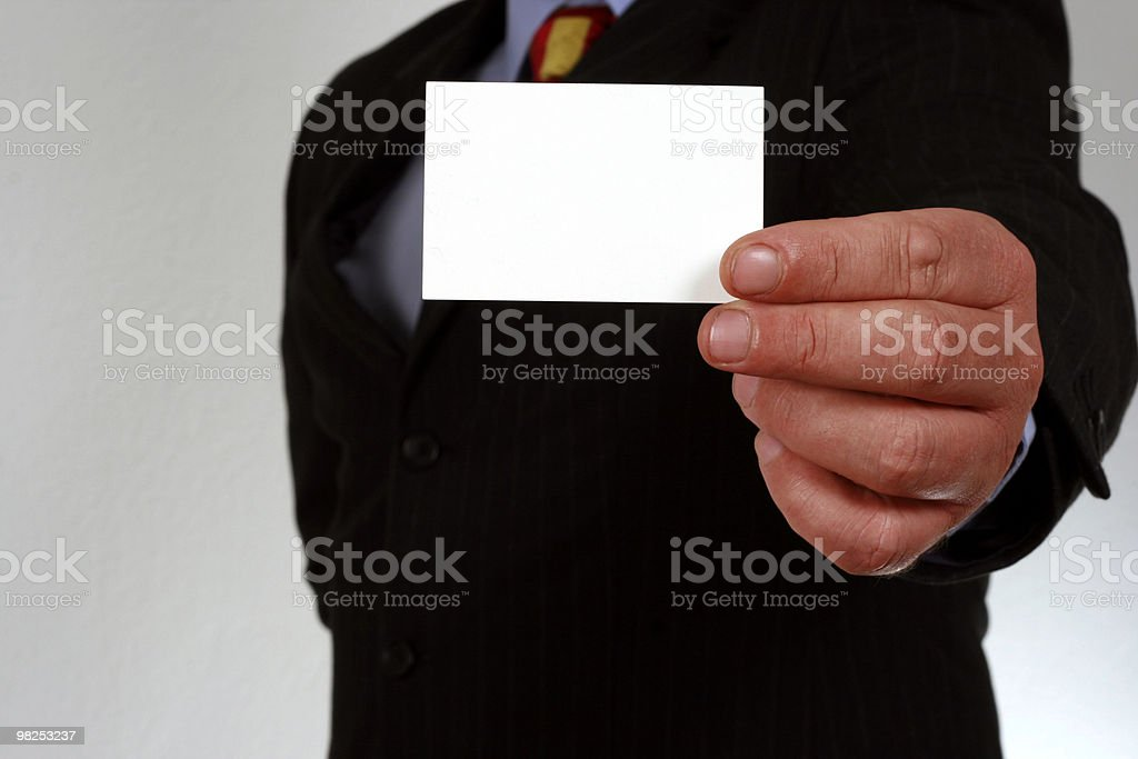 Business Person royalty-free stock photo