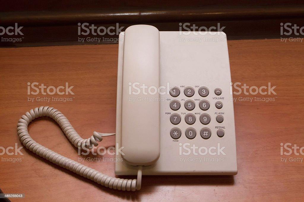 Business phone & Home phone stock photo