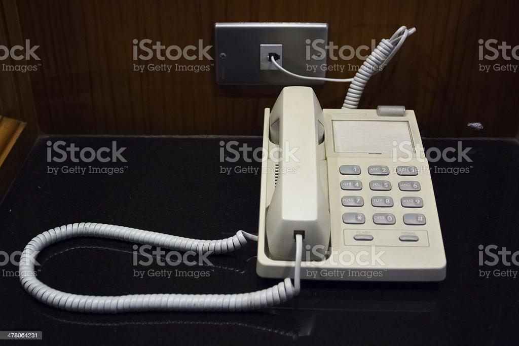 Business phone stock photo