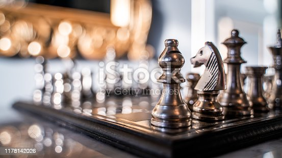Chess Pieces For Checkmate Winning Game