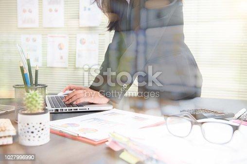 954578184 istock photo Business Photo professional investor working new start up 1027996990