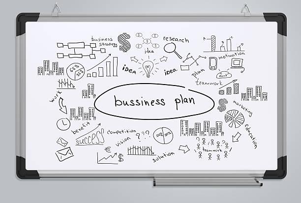 Business plano - foto de acervo