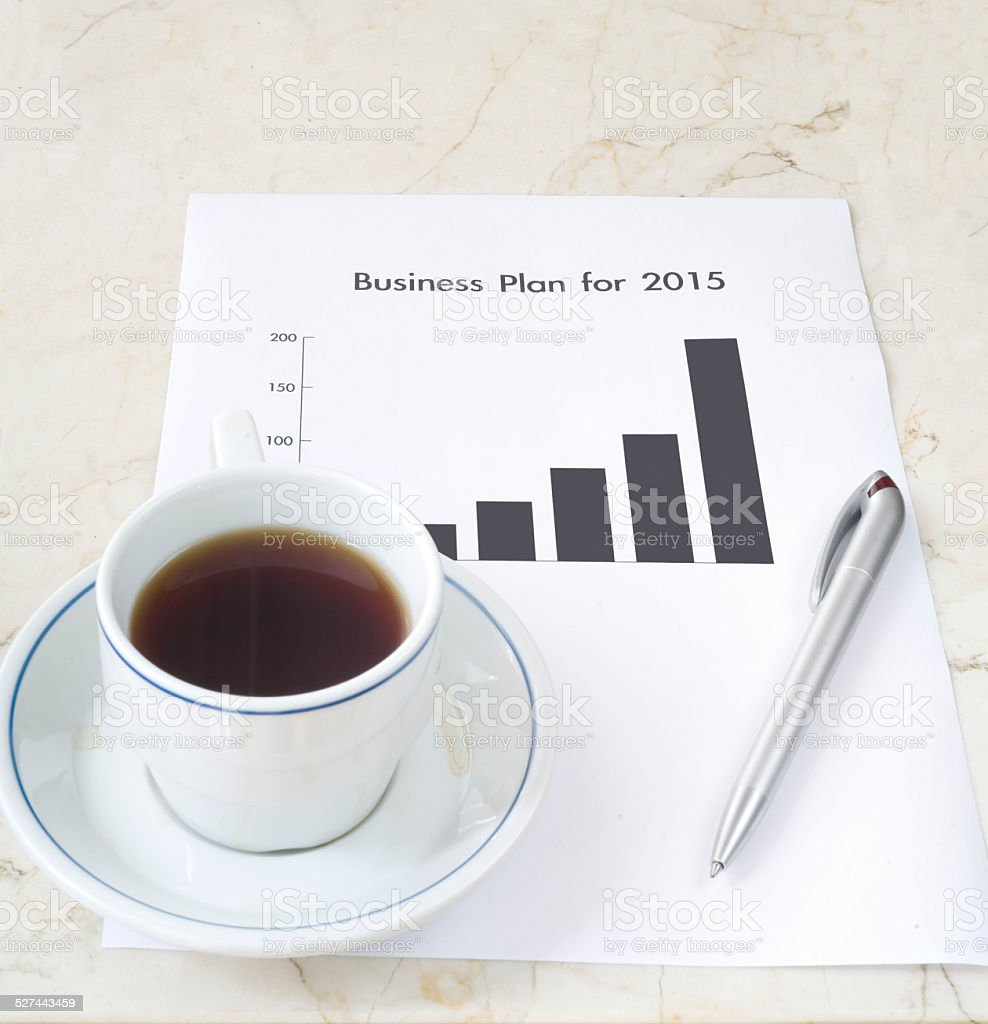business plan Lizenzfreies stock-foto
